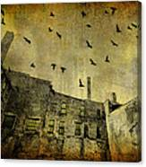 Industrial Acid Urban Sky Canvas Print