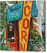 Acorn Theater Canvas Print