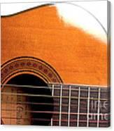 Acoustic Guitar 15 Canvas Print