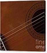 Acoustic Guitar 21 Canvas Print