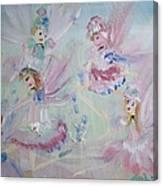 Act  Two Fairies Canvas Print