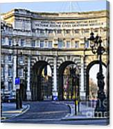 Admiralty Arch In Westminster London Canvas Print