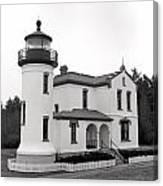Admiralty Head Lighthouse Canvas Print