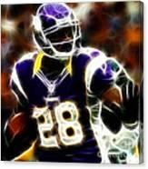 Adrian Peterson 02 - Football - Fantasy Canvas Print