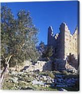Aegosthena Citadel Canvas Print