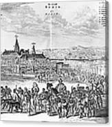 Africa: Benin City, 1686 Canvas Print