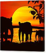 Africa Canvas Print