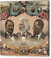 African Americans, C1881 Canvas Print