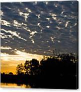 African Sunrise 3 Canvas Print