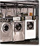 After Enlightenment The Laundry. Canvas Print