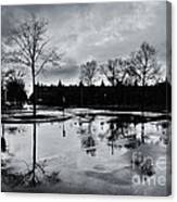 Den Haag After The Rain Canvas Print