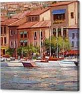 Afternoon Light In Cassis Canvas Print