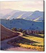 Afternoon Light Kanimbla Valley Canvas Print
