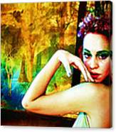 Afternoon Of A Wood Nymph Canvas Print