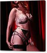 Age-old Art Of Burlesque Canvas Print