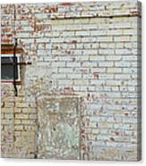 Aged Brick Wall With Character Canvas Print