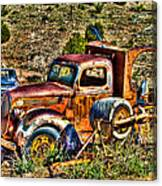 Aging Truck Canvas Print