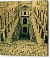 Agrasen Ki Baoli Canvas Print