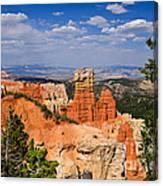 Agua Canyon Bryce Canyon National Park Canvas Print
