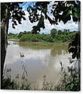 Agusan River Near Ja Pao Canvas Print