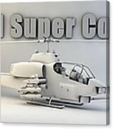 Ah-1 Super Cobra Canvas Print
