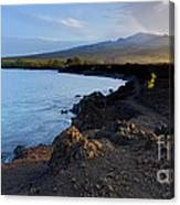 Ahihi Preserve And Haleakala Maui Hawaii Canvas Print
