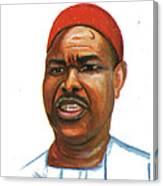 Ahmadou Ahidjo Canvas Print