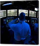 Air Traffic Controller Watches Canvas Print