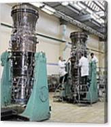 Aircraft Engine Construction Canvas Print