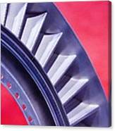 Aircraft Engine Fan Component Canvas Print