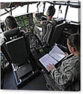 Aircrew Perform Preflight Checklists Canvas Print