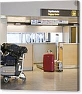 Airport Baggage Area Canvas Print