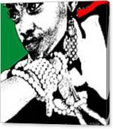 Aisha Jamaica Canvas Print