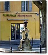 Aix En Provence Fountain Canvas Print