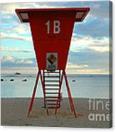 Ala Moana Lifeguard Station Canvas Print