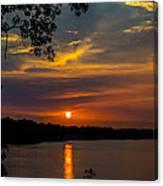 Alabama Sunset Canvas Print