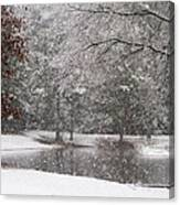 Alabama Winter Wonderland Canvas Print