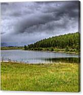 Alaki Lake Near Eureka Canvas Print