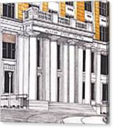 Alaska State Capitol Canvas Print