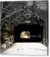 Albany Covered Bridge  Canvas Print
