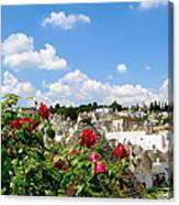 Alberobello Trulli Houses Canvas Print