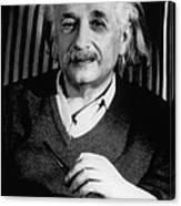 Albert Einstein, German-american Canvas Print