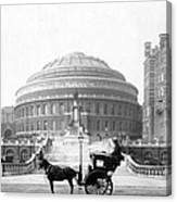 Albert Hall In London - England - C 1904 Canvas Print
