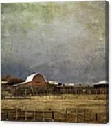 Alberta Farm Land Canvas Print