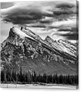 Alberta Rockies Canvas Print