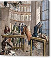 Albrecht Von Haller In Lab Canvas Print