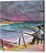 Albufera De Valencia 13 Canvas Print