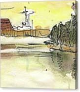 Albufera De Valencia 16 Canvas Print