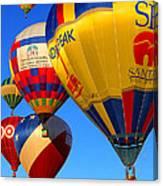 Albuquerque Balloon Festival Canvas Print
