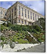 Alcatraz Cell House West Facade Canvas Print